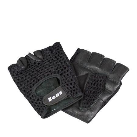 Ръкавици За Фитнес ZEUS Guanto Palestra Rete Nero 518328 GUANTO PALESTRA RETE