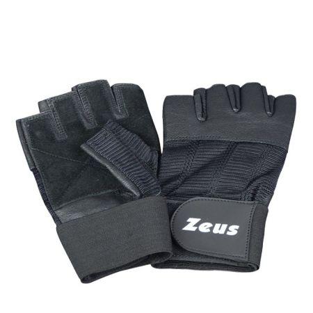 Ръкавици За Фитнес ZEUS Guanto Palestra Velvet Nero 518327 GUANTO PALESTRA VELVET