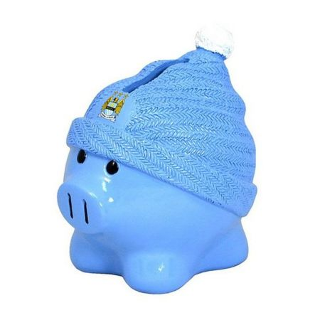 Касичка MANCHESTER CITY Beanie Piggy Bank 500946b