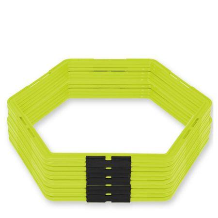 Комплект Шестоъгълници За Тренировка ZEUS Set Esagoni 10pz 515150 Set Esagoni 10pz