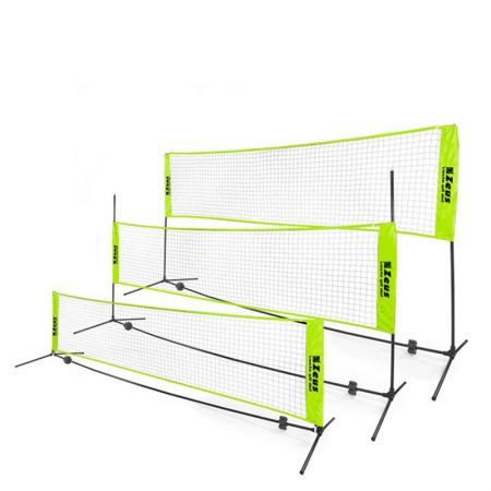 Мрежа За Фут-Тенис/Джитбол ZEUS Soccer Tennis Badminton Set 6x2m 515432 SOCCER TENNIS BADMINTON SET