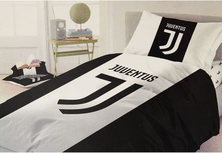 Спално Бельо JUVENTUS Reversible Single Duvet Set FA 504213