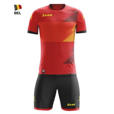 Спортен Екип ZEUS Kit Mundial Belgium Rosso/Nero