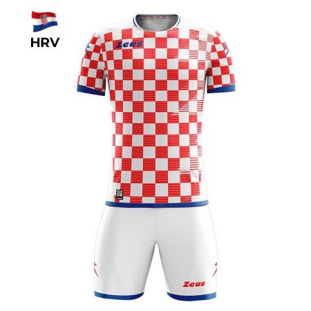 Детски Спортен Екип ZEUS Kit Mundial HRV Bianco/Rosso 520158 KIT MUNDIAL