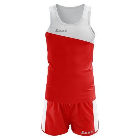 Екип За Бягане ZEUS Kit Robert Bianco/Rosso 518868 Kit Robert