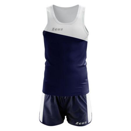 Екип За Бягане ZEUS Kit Robert Bianco/Blu 518870 Kit Robert