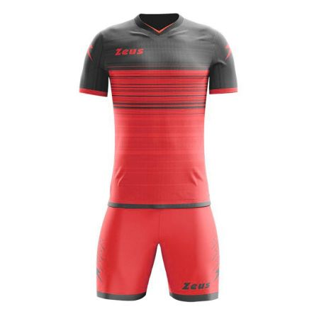 Футболен Екип ZEUS Kit Elios Solar Red/Dark Grey 511585 Kit Elios