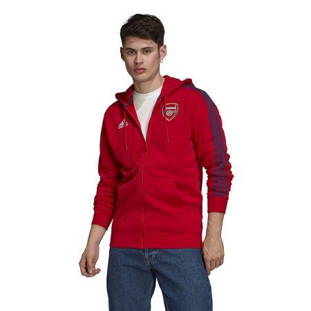 Мъжки Суичър ADIDAS Arsenal 3-stripes Full Zip Hoodie 520674 GR4202