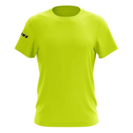 Мъжка Тениска ZEUS T-Shirt Basic Giallo Fluo 506732 T-Shirt Basic