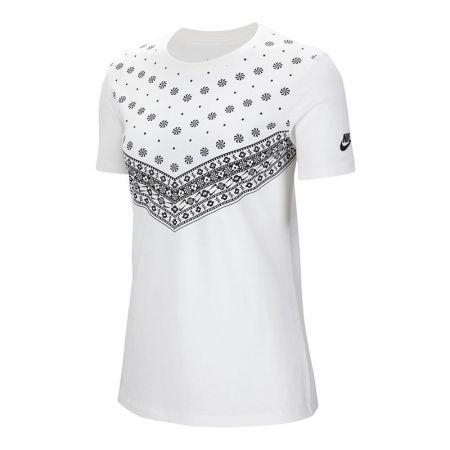 Дамска Тениска NIKE Heritage I Tee 518249 CV8012-100-K