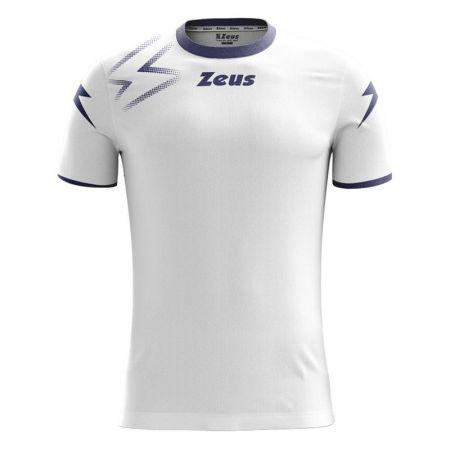 Детска Тениска ZEUS Shirt Mida Bianco/Blu