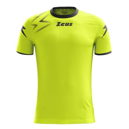 Детска Тениска ZEUS Shirt Mida Giallo Fluo/Nero 517881 Shirt Mida