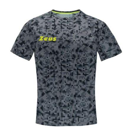 Мъжка Тениска ZEUS T-Shirt Pixel Grigio 518637 T-Shirt Pixel