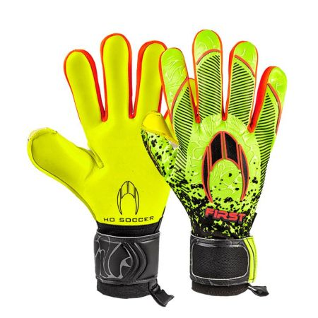 Вратарски Ръкавици HO SOCCER First Superlight Neon Lime SS20 517382 51.0850