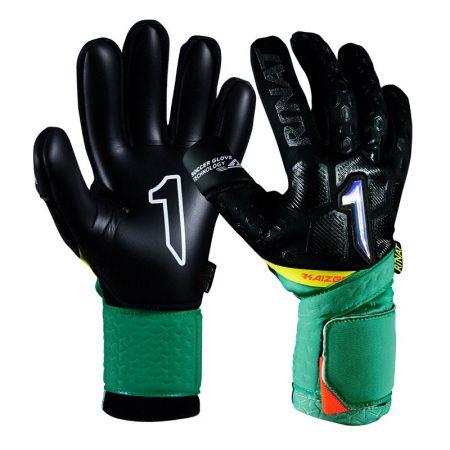 Вратарски Ръкавици RINAT Kaizen Alpha Black/Green 520604 Kaizen Alpha SS21