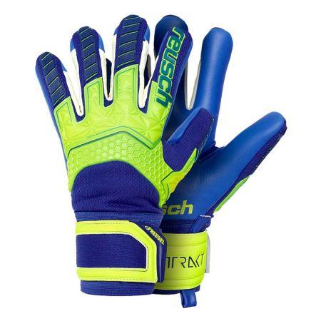 Вратарски Ръкавици REUSCH Attrakt Freegel S1 Finger Support LTD 518945 5070261-2199-B