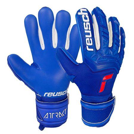 Вратарски Ръкавици REUSCH Attrakt Freegel Silver Finger Support J