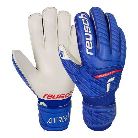 Вратарски Ръкавици REUSCH Attrakt Grip Finger Support 518944 5172810-4011-B