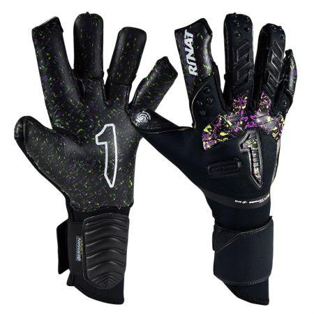 Вратарски Ръкавици RINAT Aries Pro Black/Purple/Yellow 520586 Aries Pro SS21