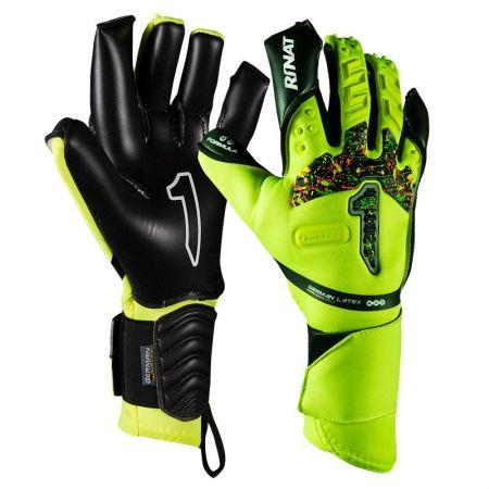 Вратарски Ръкавици RINAT Aries Pro Black/Neon Yellow 520585 Aries Pro SS21