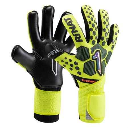 Вратарски Ръкавици RINAT Kaizen Alpha Yellow/Black 520593 Kaizen Alpha SS21
