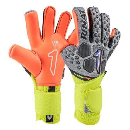 Вратарски Ръкавици RINAT Kaizen PRO Oxford/Yellow Neon 520595 Kaizen PRO SS21