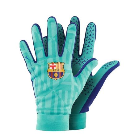 Зимни Ръкавици NIKE FC BARCELONA HyperWarm Academy Football Gloves 518156 GS3893-309/GS3894-309-K