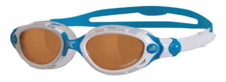 Дамски Очила За Плуване ZOGGS Predator Flex Polarized Womens Ultra 402202 321448-White/Blue